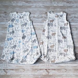 Carters Animal Print Sleeveless Sleep Sack Bundle